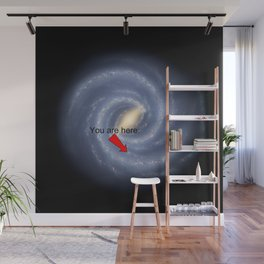 You are Here (improved version) Wall Mural