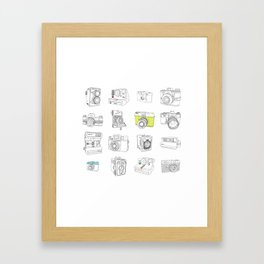 My Camera Collection Framed Art Print