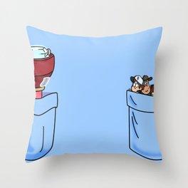 a little of Gravity Falls Throw Pillow