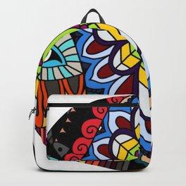Tribal ceremonial mask Backpack