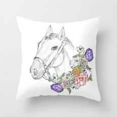 Just for show Throw Pillow