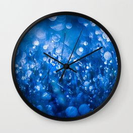 The Crystal Cave Wall Clock
