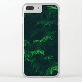 Tree Pattern Clear iPhone Case