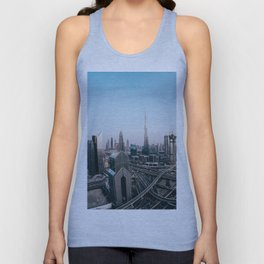 View from Dubai Unisex Tank Top