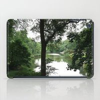 central park iPad Cases featuring Central Park by Jess H