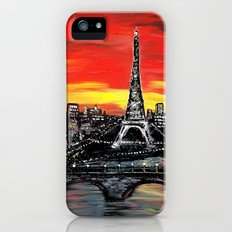 Red Sky over Paris iPhone (5, 5s) Slim Case