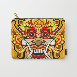Balinese mask / Bali / Barong #4 Carry-All Pouch