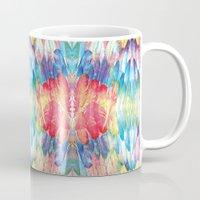 boho Mugs featuring Boho by Marta Olga Klara