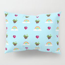 Somewhere Over The Rainbow pattern Pillow Sham