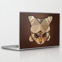 kitten Laptop & iPad Skins featuring Kitten  by Angel Decuir