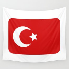 turkey flag Wall Tapestry
