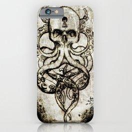 Cthulu Kraken Hail Hydra iPhone Case