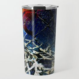 Basketball art swoosh 59 Travel Mug