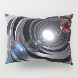 Abstract Camera Lens Pillow Sham