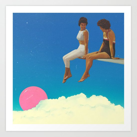 the.view//from.here Art Print