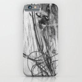 Horse (Portrait of a Racer) iPhone Case