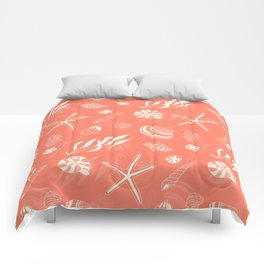 Sea shells patten Comforters