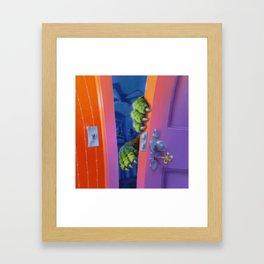 How to Kill a Monster Framed Art Print