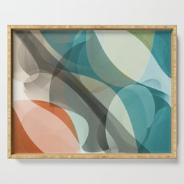 Abstract 2018 017 Serving Tray