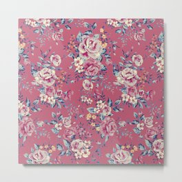 Floral Pattern 5.4 Metal Print