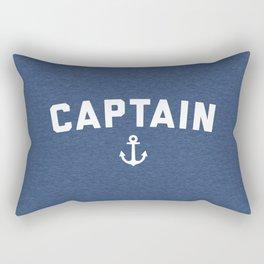Captain Nautical Quote Rectangular Pillow