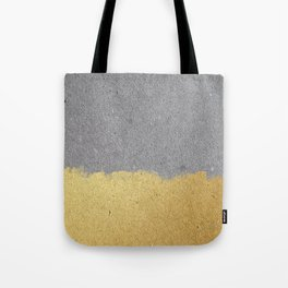 Concrete and gold Tote Bag