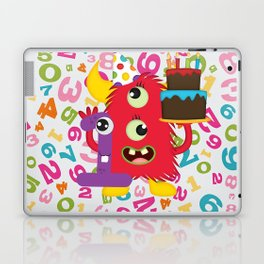 Birthday Monster 1st Birthday Laptop & iPad Skin