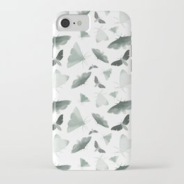 Watercolor Moths iPhone Case