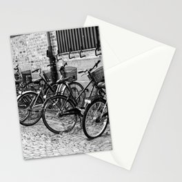 Bike parking only Stationery Cards