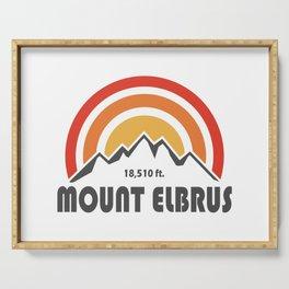 Mount Elbrus Serving Tray