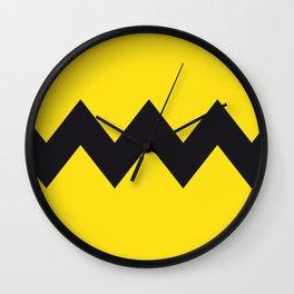 Charlie Brown Shirt Wall Clock