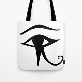JAMILA logo ~ Eye of Horus Tote Bag