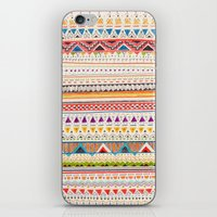 lines iPhone & iPod Skins featuring Pattern by Sandra Dieckmann