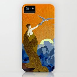 """""""Wings of Victory"""" Art Deco Design iPhone Case"""