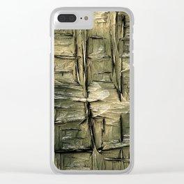Grannys Hut - Structure 2A Clear iPhone Case