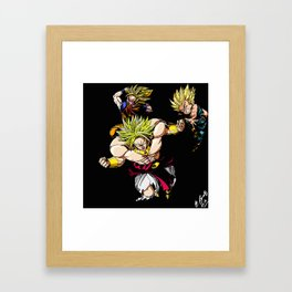 Broly Dragonball Z Framed Art Print