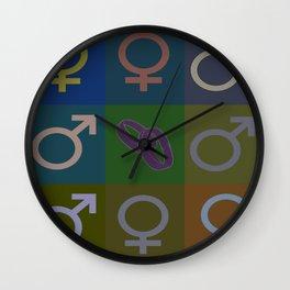 Tic-Tac I Do Wall Clock