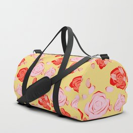 Roses pattern 3b Duffle Bag