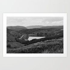 On top of a Mountain Art Print