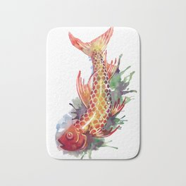 Fish Splash Bath Mat