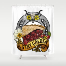 You're PIE-FECT, Just As You Are Shower Curtain