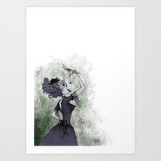 Perhaps She'll Die Art Print