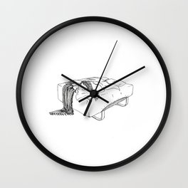 Bed Wall Clock