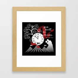 The Night Circus Quote Framed Art Print
