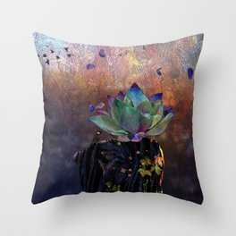 Stem Soul Research Throw Pillow