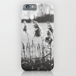 December at the Lake iPhone Case