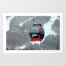 Gondola in Stowe Art Print