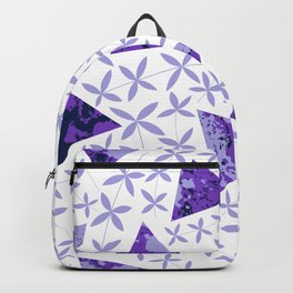 Shapes in Nature : Purple Backpack