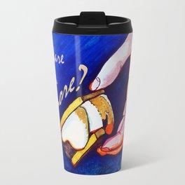 Do I Dare to Eat a S'More?  Travel Mug