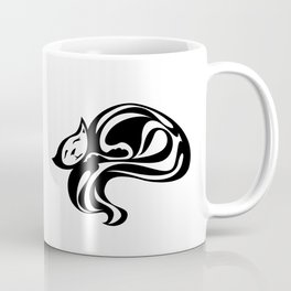 Cat Curl Coffee Mug